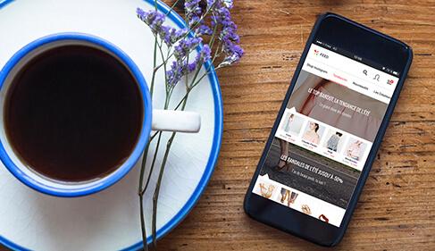 Avec l'app Flayr, retrouvez tout votre style dans votre mobile